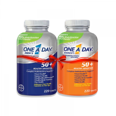 Combo Ông bà sống khỏe: One A Day Women's 50+ Healthy Advantage + One A Day Men 50+ Healthy Advantage