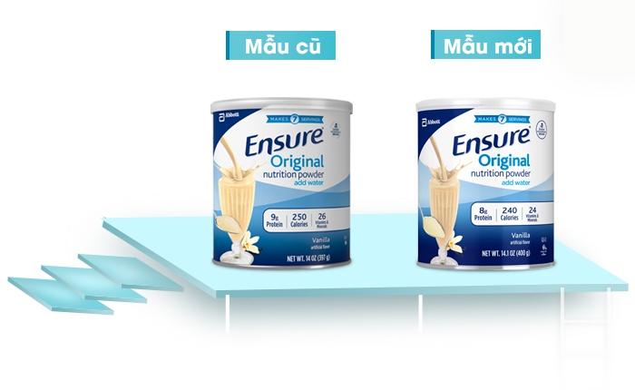 Những lưu ý khi sử dụng sữa ensure mỹ 397g