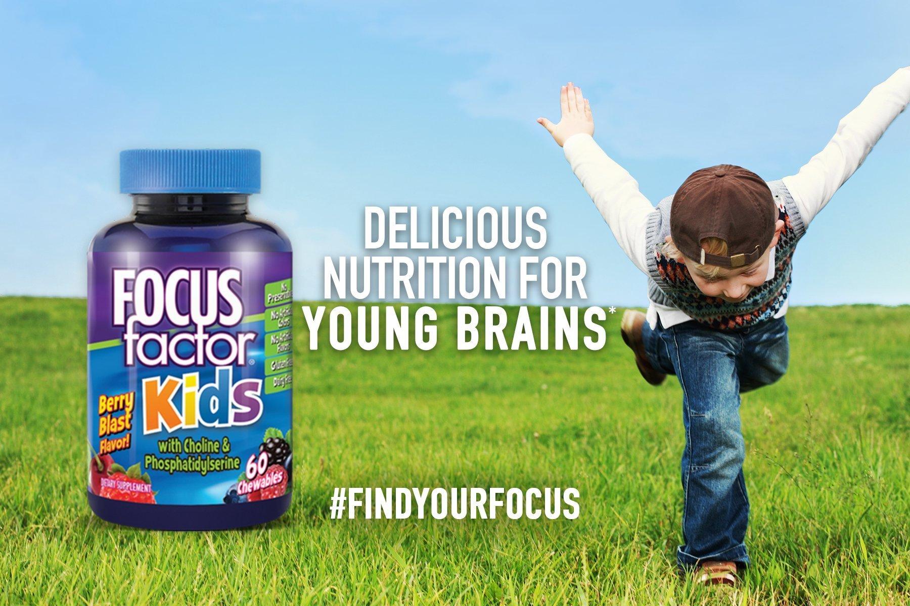 Thành phẩn chính chứa trong mỗi viên focus factor for kids