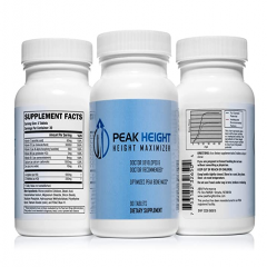 Grow Taller Height Pill Supplement - Peak Height- Viên Uống Tăng Chiều Cao 90 vên