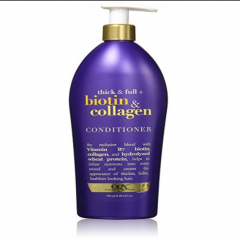 Dầu xả OGX Thick and Full Biotin and Collagen Conditioner 750ml