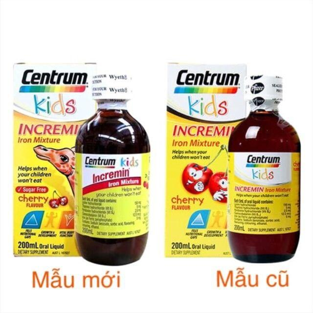 Centrum kids incremin iron mixture 200 ml