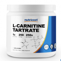Nutricost L-Carnitine Tartrate Powder 250g