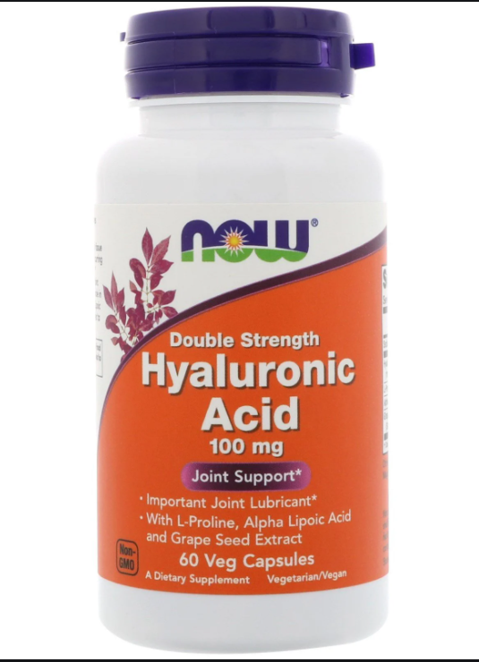 NOW Foods Hyaluronic Acid 100mg