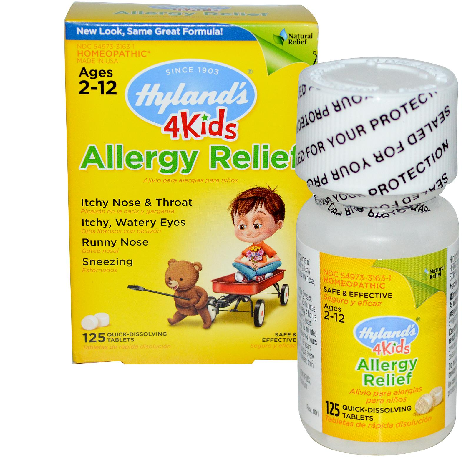 Hyland's allergy relief 4kids