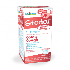 Boiron Hot Stodal cold and cough Siro Ngừa Cảm Cúm Cho Bé 125ml