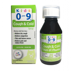 Siro Ho Và Cảm Lạnh Cough & Cold Syrup For Kids 0-9Y 100ml