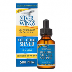 Keo bạc Colloidal Silver Natural Path Silver Wings 500ppm.