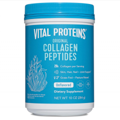 Bột Collagen Vital Proteins Collagen Peptides Unflavored của Mỹ 284gr